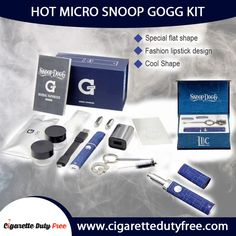 Buy the  Hot Micro Snoop Dogg Kit at affortable price. Visit at http://www.cigarettedutyfree.com/english/e-cigarettes/electronic-cigarettes-kits/hot-micro-snoop-dogg-kit-350mah-dry-herb-vaporizer-pen-replica-g-card.html.  #CigaretteDutyFree #Cigarettes #Cigars #ElectronicCigarettes #Vaporizers #Starterkits
