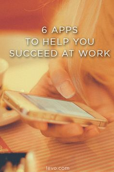 Best #Apps to download for your career. www.levo.com