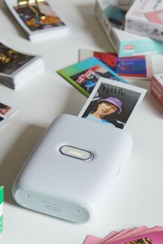 Print your fave digital pics to turn your most-liked into IRL memories with this smartphone printer by Fujifilm. Edit your favorite shots with filters and more before printing them on Instax Mini film - sold separately. Technology World, Medical Technology, Medical Science, Technology Innovations, Medical Coding, Medical Help, Technology Gadgets, Instax Mini Film, Fujifilm Instax Mini