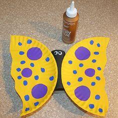 Paper Plate Butterfly Craft by Sherri Osborn