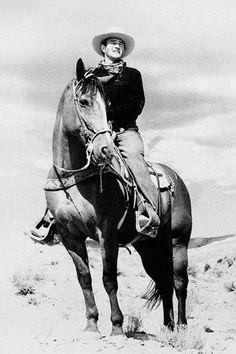 John Wayne on Duke