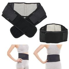 Ajustable Turmalina calentamiento Espontáneo Terapia Magnética Cinturón Ayuda de la Cintura Lumbar Back Apoyo de la Ayuda de La Cintura Envío de La Gota Al Por Mayor