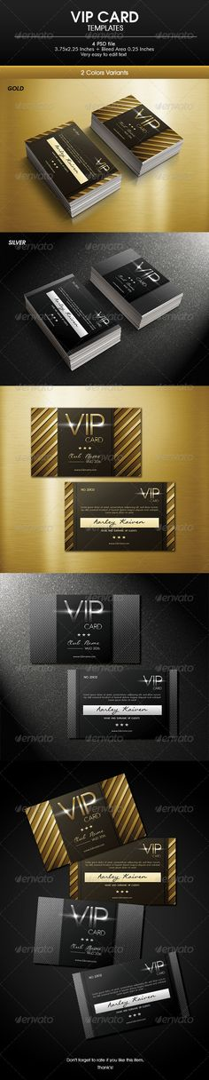Multipurpose Vip Card - Loyalty Cards Cards & Invites https://graphicriver.net/item/multipurpose-vip-card/6784121?ref=231267