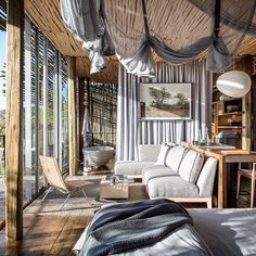 The pioneering safari lodge Singita Lebombo has done it again. After closing for several months, the South African retreat has reopened with an all-new look that once again sets the standard for contemporary-safari style. Additions to the lodge include two new family suites with private pools. @robbreport @singita_ #robbreport #singita #singitalebombo #safari #luxurysafari #southafricasafari