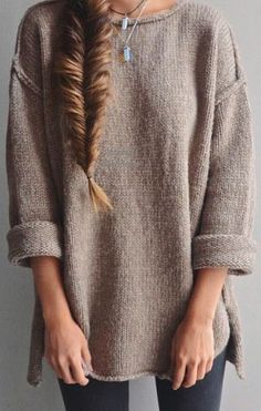 to the side fish braid for those days that you just want to look comfortable