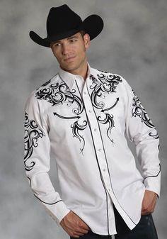 Mens Cowboy Shirts, Rodeo Shirts, Western Shirts, Hot Cowboys, Cowboys Shirt, Western Style, Western Wear, Chemises Country, Charro Suit