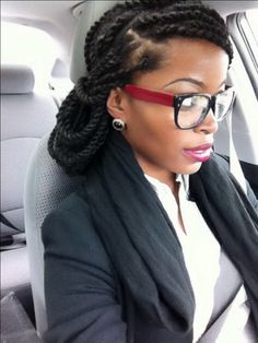 Marley twist hair style @msnaturallymary