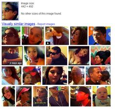 Google image search of my profile pictures