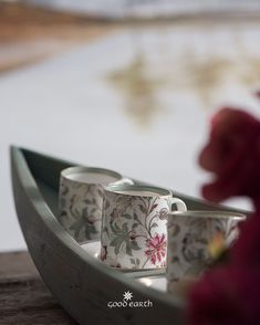 Good Earth brings you luxury design crafted by hand, inspired by nature and enchanted by history, celebrating India's rich history and culture through original, handcrafted products. Good Earth India, High Tea, Design Crafts, Cutlery, Bone China, Cup And Saucer, Stoneware, Tea Cups, Essentials