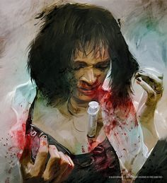 in Pulp Fiction by Vlad Rodriguez Tarantino Films, Quentin Tarantino, Arte Pulp Fiction, Pulp Fiction Tattoo, Mia Wallace, Fanart, Pop Culture Art, Pulp Art, Cultura Pop