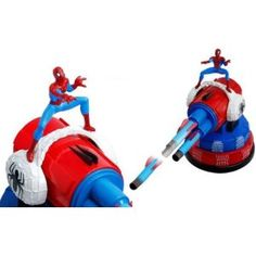 Yes, Spiderman do the Trick!  USB Spiderman Missile Launcher by Dream Cheeky (Toy)  http://www.usb-blog.de/preview.php?p=B001ZQUHKG
