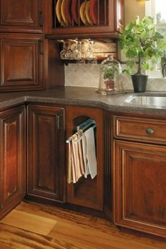 Getting Organized with Fieldstone Cabinetry - kitchen cabinets - other metro - Absolute Kitchen And Bath