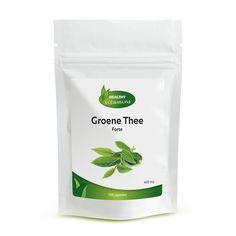 #Groene #thee extra Forte capsules bevatten hooggedoseerd groene thee extract. Dit supplement bevat maar liefst 50% EGCG per capsule. 80% catechinem en min 98% Polyfenolen. Dit is op het moment een van de sterkste groene thee formules op de nederlandse markt. De positieve stoffen van de Camellia Sinensis zijn de anti-oxidanten die voor vele toepassingen ingezet kunnen worden. Ontdek nu onze capsules. Wilt u Groene Thee Forte kopen? Klik op de foto.