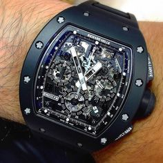 Richard Mille RM011 Black Phantom