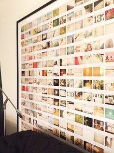 A huge frame of photos!!!