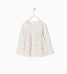 Printed shirt-Shirts-Girl (3-14 years)-KIDS   ZARA United States