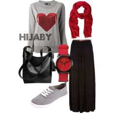 Hijab Fashion 2016/2017: hijaby casual by simsima-moslema on Polyvore Hijab Fashion 2016/2017: Sélection de looks tendances spécial voilées Look Descreption hijaby casual by simsima-moslema on Polyvore