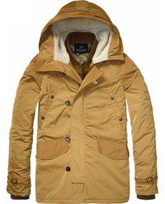 Parka Jacket With Inner Bomber > Mens Clothing > Jackets at Scotch & Soda - Scotch & Soda Online Fashion & Apparel Shop