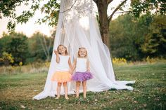 Cute styled little girls session with white canopy in pretty field and gorgeous golden hour tea-party, Cranberry Township, PA — Kelly Searle Photography