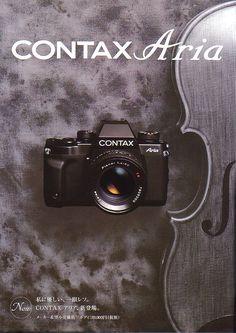 コンタックス アリアの部屋 This is CONTAX Aria's room ! presented by カメラの極楽堂