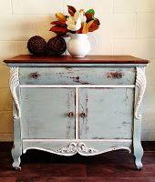 Antique Commode Van Gough Canadian Chalk Paint