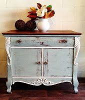 Antique Commode Van Gough Canadian Chalk Paint