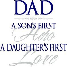 A Daughter's First Love