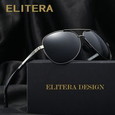 0639da1413 ELITERA Brand Polarized Sunglasses Men Male Female Aluminum magnesium Sun  Glasses Fishing Driving Sunglasses Goggle Eyewear     This is an AliExpress  ...