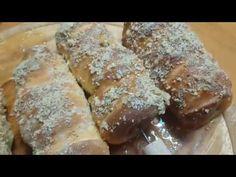 Kurtos cu crema.Cozonac Unguresc Sweet Bread, English, Make It Yourself, Breakfast, Youtube, Food, Morning Coffee, Meal, Essen