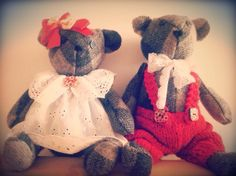 "CARLA 9 - handmade bears - ""You're kinda, sorta, basically, pretty much always on my mind!"""