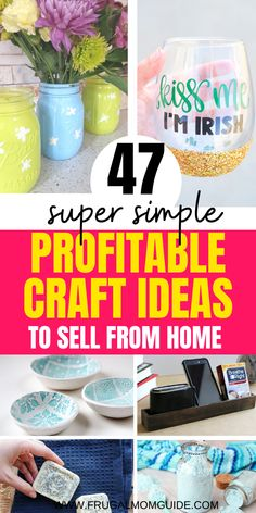 47 Simple and Profitable Crafts Ideas to Sell to Make Extra Money from Home in 2020