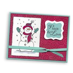 Showcase-3-Peace & Love Snowman