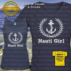 Are you a Nauti GIrl? These are just too cute!! They have the matching Nauti Boy…