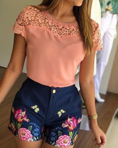 Diseño Classy Outfits, Chic Outfits, Fashion Outfits, Short Outfits, Short Dresses, Summer Outfits, Look Fashion, Girl Fashion, Womens Fashion