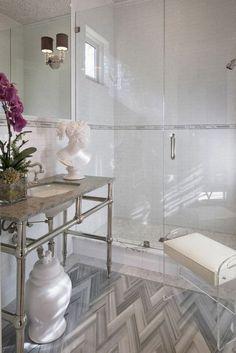 pros cons frameless shower doors modern bathroom walk in shower console sink statuette