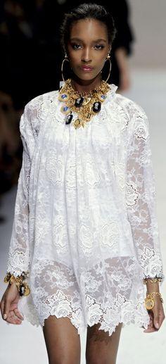 Dolce & Gabbana Spring 2011