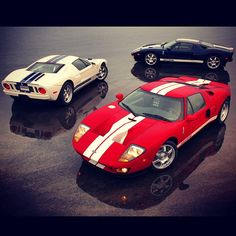 3 pals hanging out Loving the Ford GT in White especially