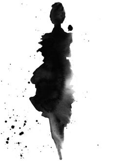 Black ruffles av Patternplan - Poster för dina väggar från Gallerix, pris från 79 kr. Besök oss på https://www.gallerix.se