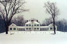 Blennerhassett Island Mansion, Parkersburg, West Virginia.