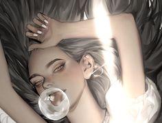Digital Art Anime, Selfie, Female, Artist, Twitter, Artists, Selfies