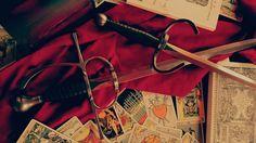 Still my sword and dagger