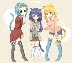 Levy, Wendy, & Lucy