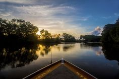 """""""River Sunset"""" Photo by Emanuele Del Bufalo -- National Geographic Your Shot"""
