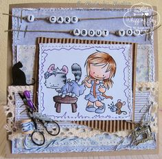 Love the images from the Sew Sweet collection, this is one of them