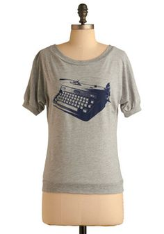 Bumbershoot In Brooklyn Tee   Mod Retro Vintage T-Shirts   ModCloth.com ( @Taylor Ruff because you're hipster)