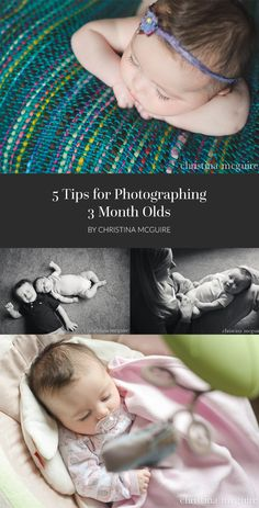 5 Tips for Photographing 3 Month Olds