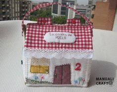 casita neceser-Manualicraft - Amigurumi, scrap y costura creativa