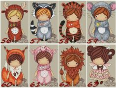 Zz Cross Stitch Designs, Cross Stitch Patterns, Fabric Butterfly, Homemade Stickers, Decoupage Vintage, Christmas Drawing, Cute Friends, Cute Cartoon Wallpapers, Digi Stamps