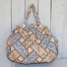 Vintage Jani Bag Knitting Bag by thevintagetreehouse on Etsy, $39.50