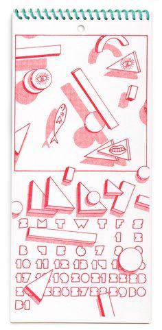 2015 Calendar - Tan & Loose